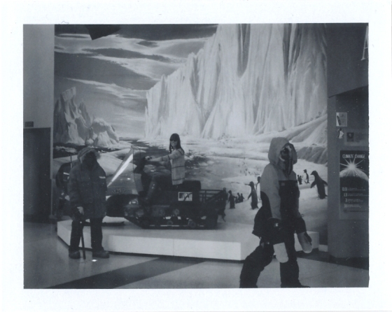 Polaroid of The Antarctic Cenre