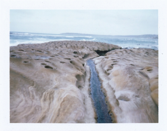 Polaroid of Cronulla Beach, Australia