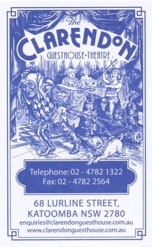 The Clarendon Guesthouse: Katoomba, Australia
