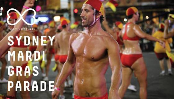 Sydney Mardi Gras Parade 2013, official photo