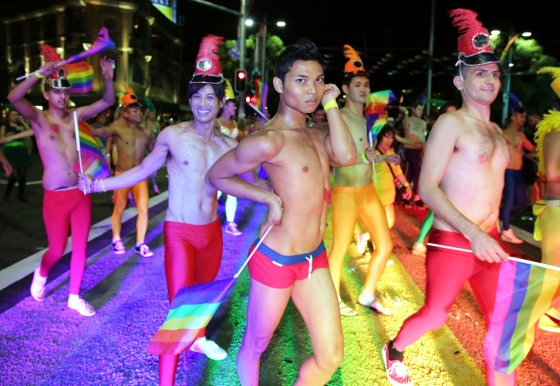 Sydney Mardi Gras 2013, photo by Ann Marie Calilhanna