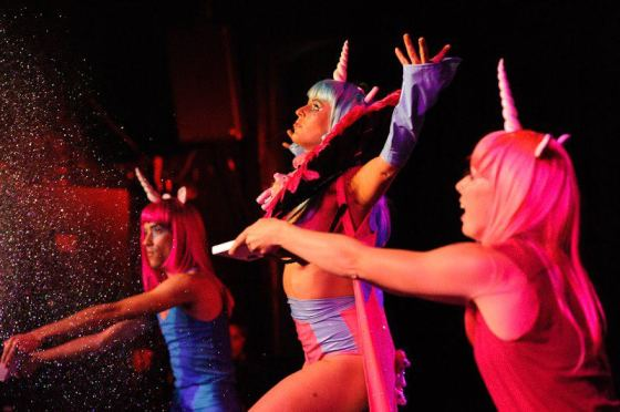 My Little Pony Burlesque at the Jurassic Lounge: Sydney, Australia. Photo courtesy of Jurassic Lounge.