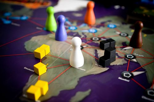 Pandemic- Photograph courtesy of The Board Game Family