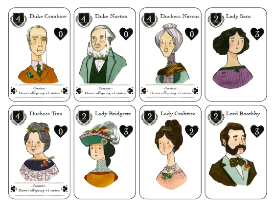 Lords and Ladies- a Kickstarter funded card game
