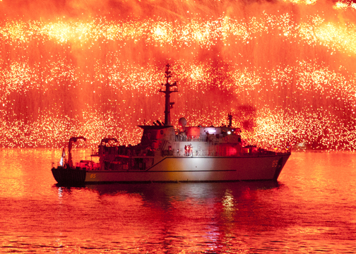 International Fleet Review 2013: Sydney Harbour, Australia