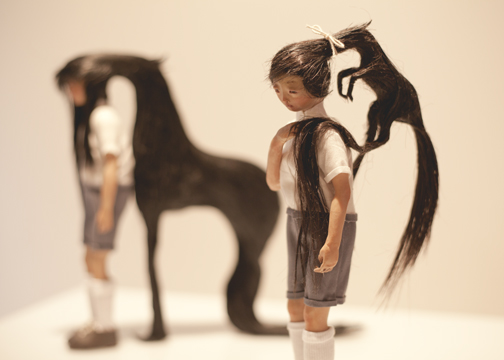 'Ponytail' by Mylyn Nguyen: Crossing Boundaries exhibition, Sydney