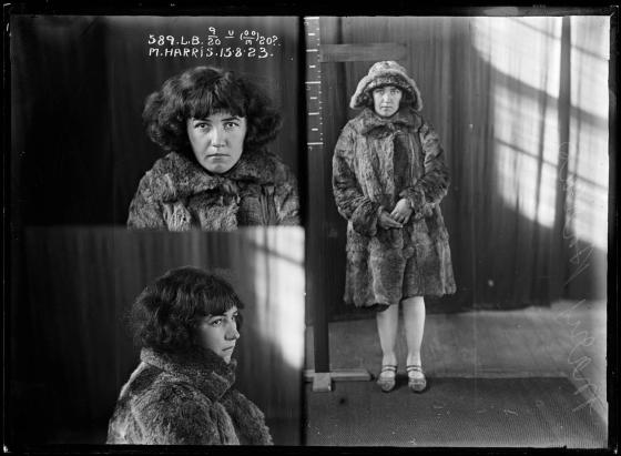 Mary Harris, criminal record number 589LB, 15 August 1923. State Reformatory for Women, Long Bay, NSW
