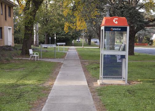 A quiet suburb in Canberra, Australia