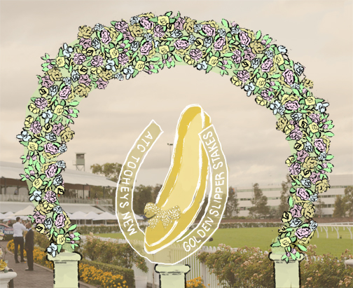 Golden Slipper  horse race at Rose Hill: Sydney, Australia