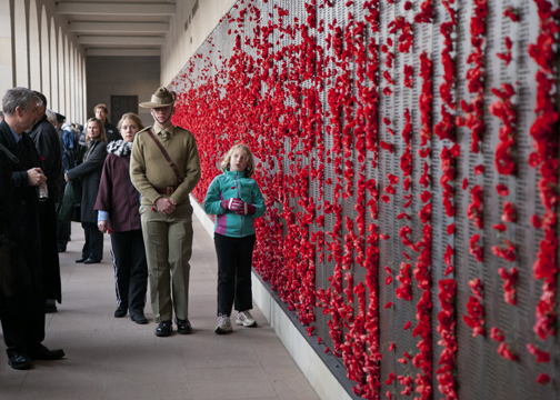 ANZAC Day at the Australian War Memorial: Canberra