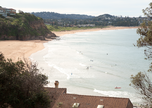 One of Sydney's northern beaches: Warriewood, Australia