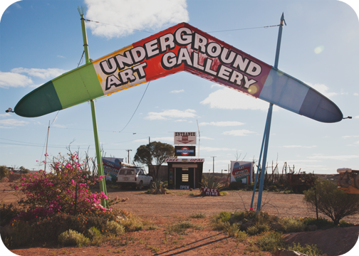 Underground Art Gallery: Coober Pedy, South Australia
