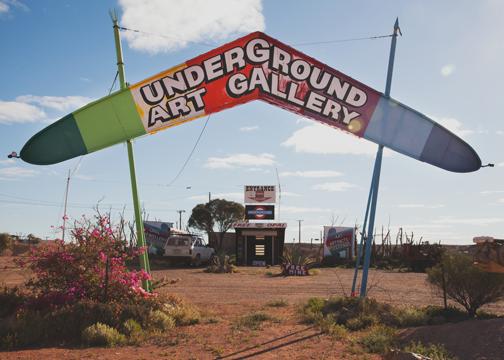 Underground Art Gallery: Coober Pedy, South Australia