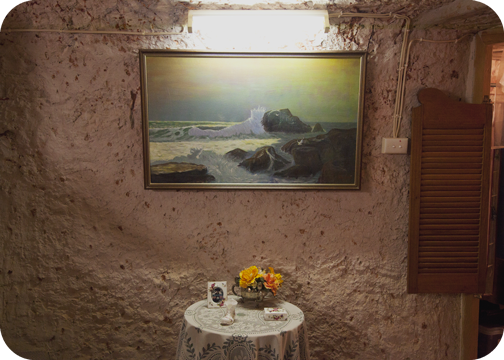 Faye's Underground House: Coober Pedy, South Australia