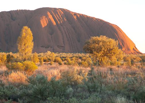 Uluru at sunrise: Northern Territry, Australia