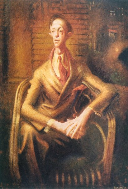 Mr Joshua Smith - Medium: Oil on canvas - Artist: William Dobell