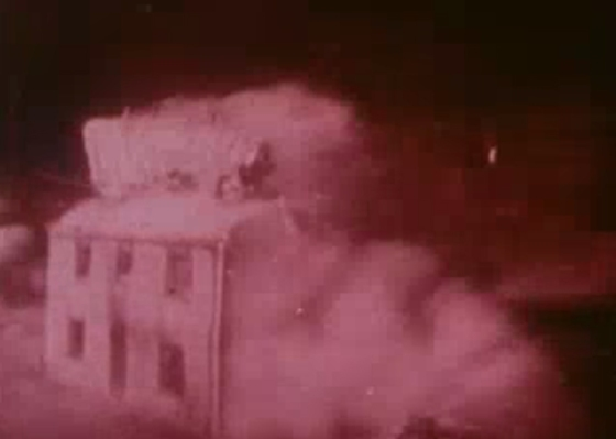 Film still from Operation Cue Footage - Courtesy of National Nuclear Security Administration / Nevada Site Office