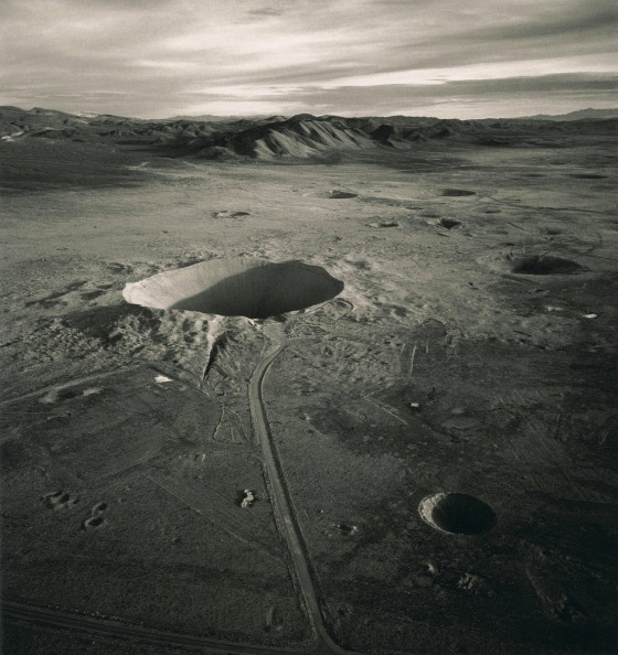 Sedan Crater - Courtesy of Emmet Gowin