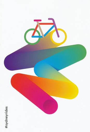 Brochure for Sydney RIdes Festival 2014
