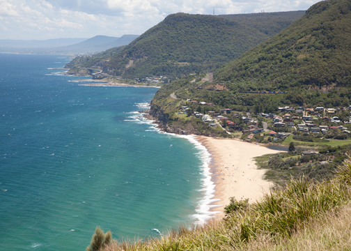 View from Stanwell Tops: Australia
