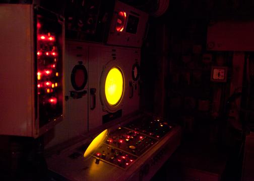 Operation Room of the HMAS Vampire: Australian National Maritime Museum, Sydney