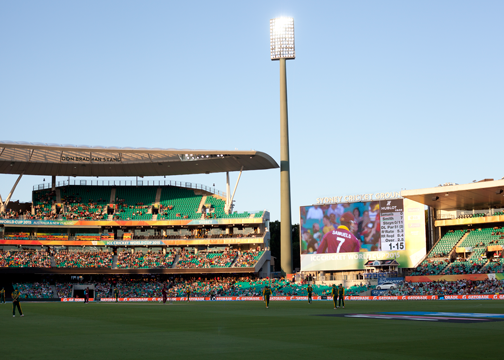 2015 Cricket World Cup at the Sydney Cricket Ground: Sydney, Australia