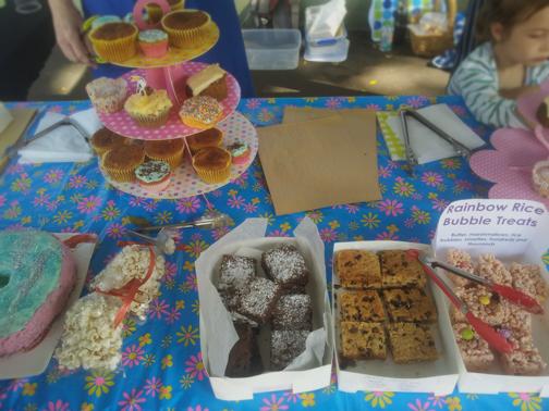 Cake Stall at Newtown Public: Sydney Australia