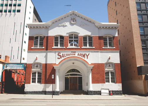 Salvation Army Building: Perth, Australia