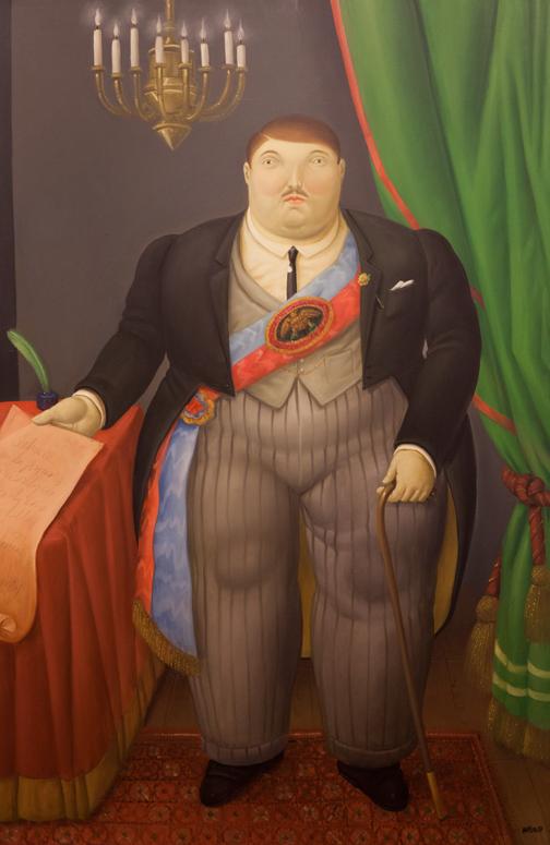 El Presidente, 1997: Botero Museum, Bogotá