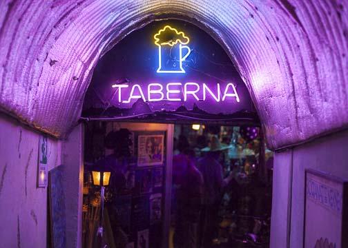 Entrance to Mi Tierra: Bogotá, Colombia