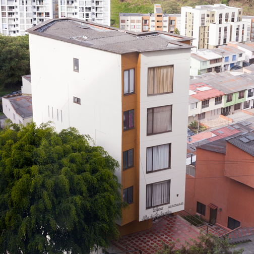 View of the apartment in Manizales, Colombia