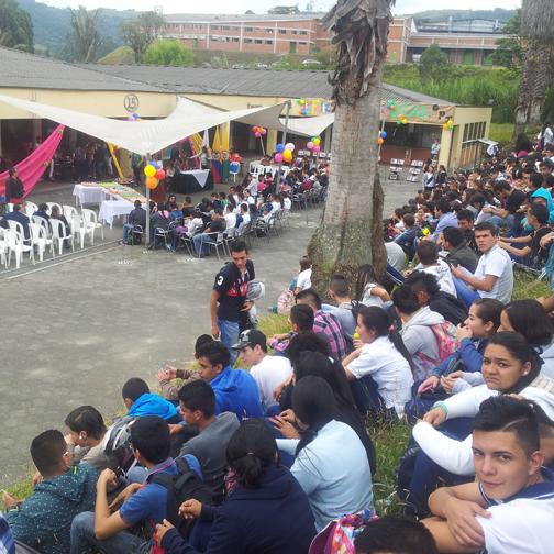 Happy 58th Birthday function at SENA: Manizales, Colombia