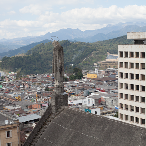 View from the Manizales Cathedral: Colombia