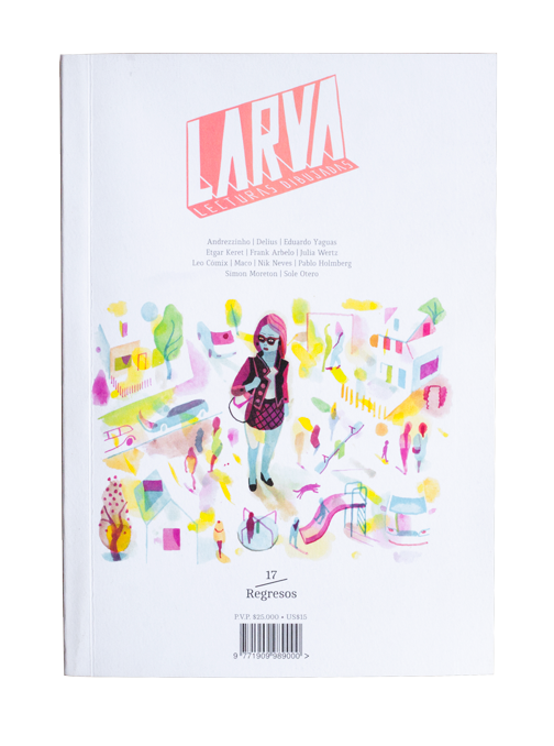 Larva graphic anthology - Feria del Libro de Manizales