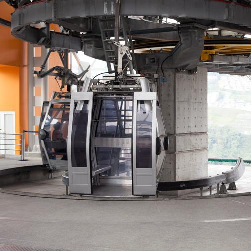 Cable car station at Villa Maria: Manizales, Colombia