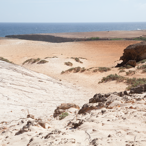 View of the coast at Arikok National Park, Aruba