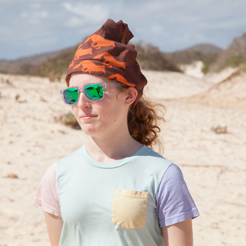 Mikayla at Arikok National Park, Aruba