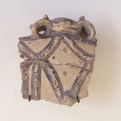 Pottery shard from the National Archaeological Museum Aruba - Oranjestad