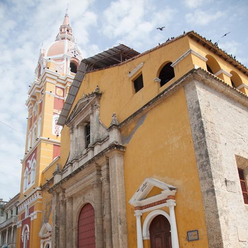 Cathedral de Santa Catalina de Alejandria: Cartagena, Colombia