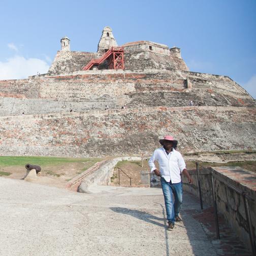 Castillo de San Felipe de Barajas: Cartagena, Colombia