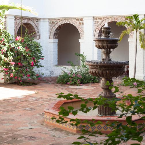Museo-de-Arte-Religiosa-Courtyard
