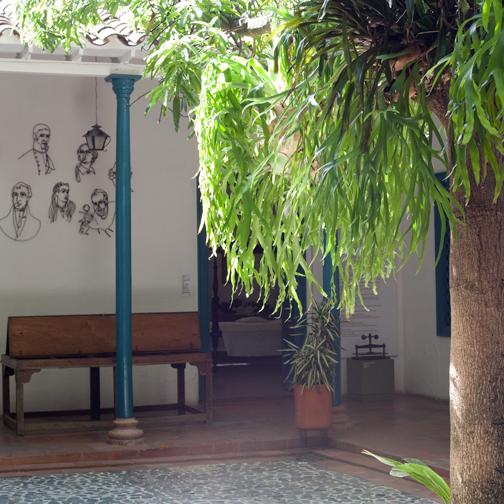 Museo-Juan-de-Corral-Courtyard