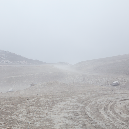 Nevado-del-Ruiz-Foggy-Dirt-Road